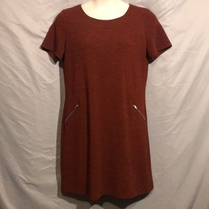 Gilli dark red sweater dress 1X plus size like new